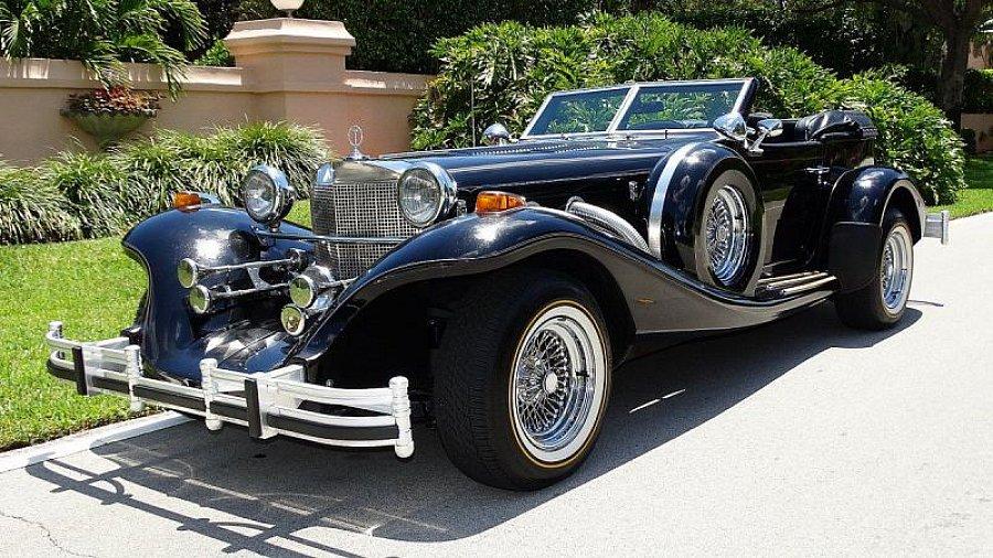 excalibur phaeton s rie iv cabriolet noir occasion 44 360 25 000 km vente de voiture d. Black Bedroom Furniture Sets. Home Design Ideas