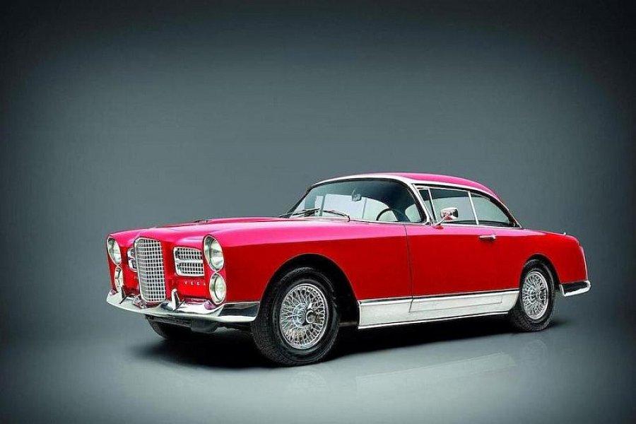 facel vega hk 500 v8 coup rouge occasion 0 1 km vente de voiture d 39 occasion motorlegend. Black Bedroom Furniture Sets. Home Design Ideas