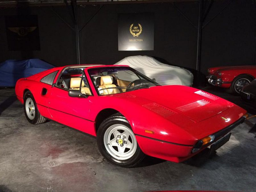 ferrari 308 gts quattrovalvole targa rouge occasion 98. Black Bedroom Furniture Sets. Home Design Ideas