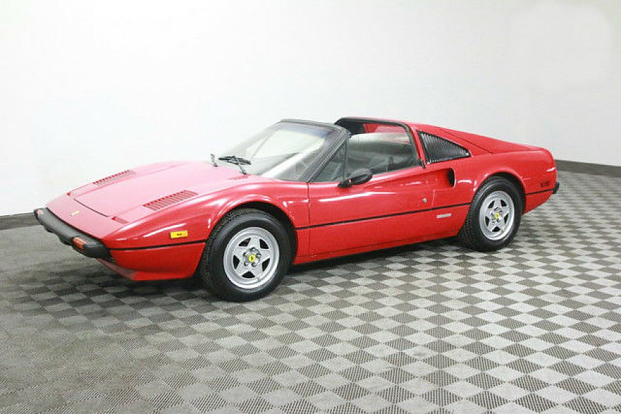 ferrari 308 gts i cabriolet rouge occasion 60 000 39. Black Bedroom Furniture Sets. Home Design Ideas