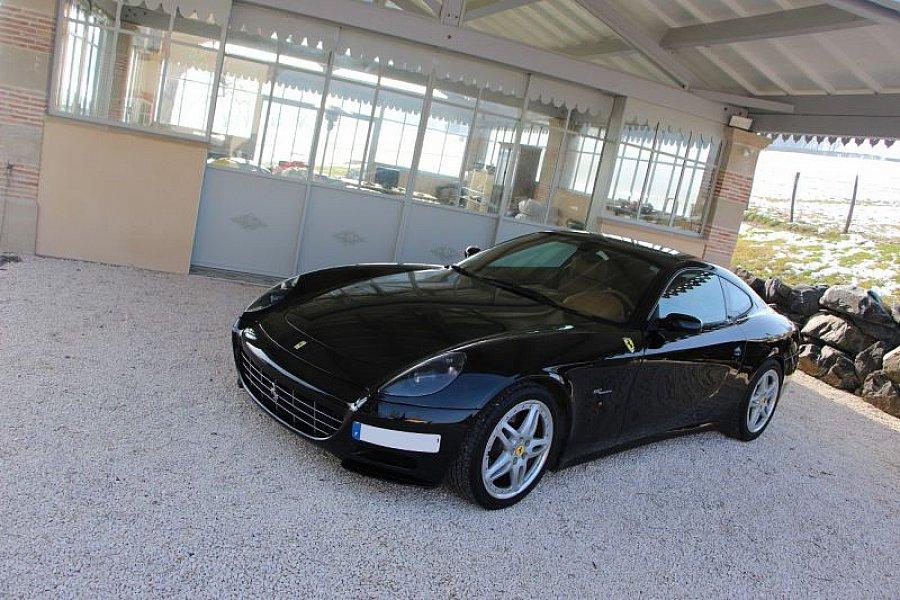 ferrari 612 scaglietti coup noir occasion 0 64 512 km vente de voiture d 39 occasion. Black Bedroom Furniture Sets. Home Design Ideas