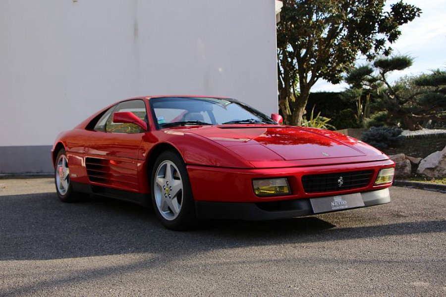 ferrari 348 tb coup rouge occasion 0 19 933 km vente de voiture d 39 occasion motorlegend. Black Bedroom Furniture Sets. Home Design Ideas