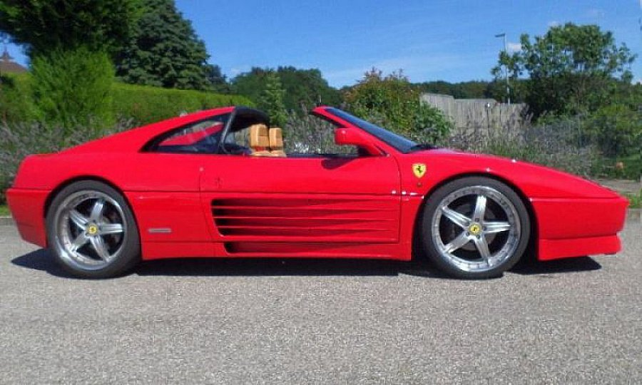 ferrari 348 ts targa rouge occasion 79 800 84 000 km vente de voiture d 39 occasion. Black Bedroom Furniture Sets. Home Design Ideas