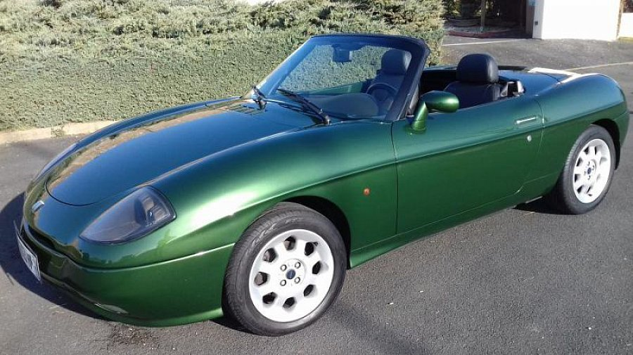 fiat barchetta 1 8 16s 130 ch pack luxe cabriolet vert. Black Bedroom Furniture Sets. Home Design Ideas