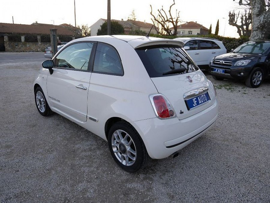 fiat 500 ii sport berline beige occasion 6 700 83 700 km vente de voiture d 39 occasion. Black Bedroom Furniture Sets. Home Design Ideas