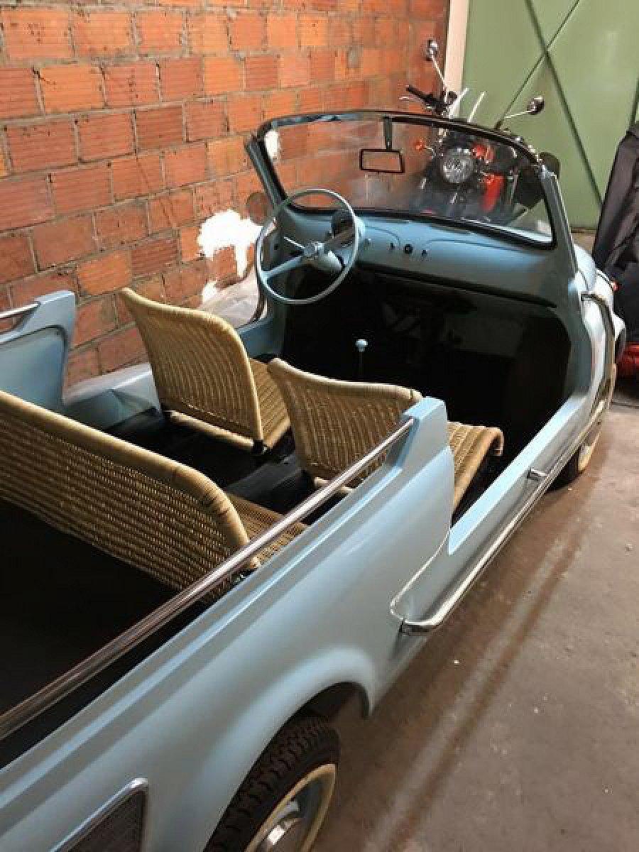 fiat 500 i d jolly cabriolet bleu occasion 35 000 10 km vente de voiture d 39 occasion. Black Bedroom Furniture Sets. Home Design Ideas