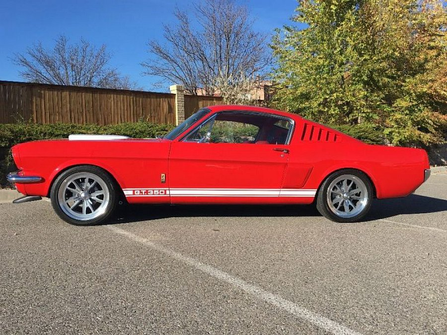 ford mustang i 1964 73 4 9l v8 302 ci shelby gt350 rouge occasion 48 620 49 723 km. Black Bedroom Furniture Sets. Home Design Ideas