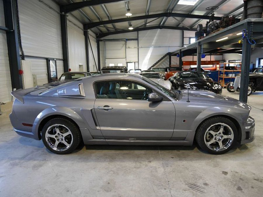 ford mustang v 2005 14 serie 1 roush stage 1 coup gris occasion 32 000 34 122 km. Black Bedroom Furniture Sets. Home Design Ideas