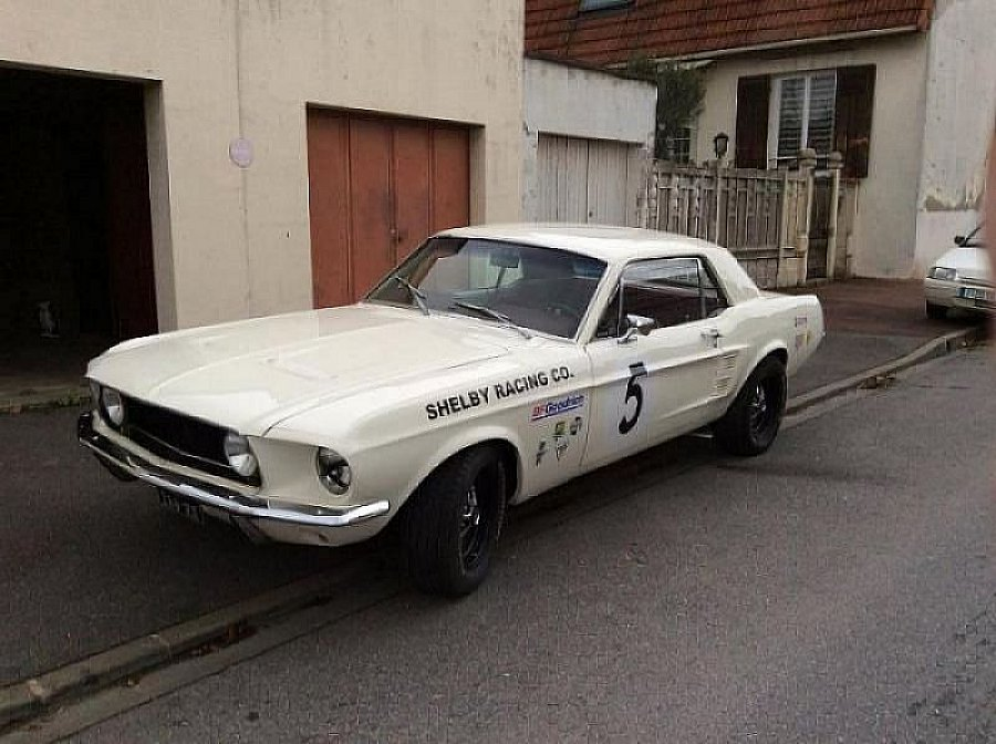 FORD MUSTANG I (1964-73) 5.8L V8 (351 ci) coupé Ivoire occasion - 25 000 €, 95 500 km