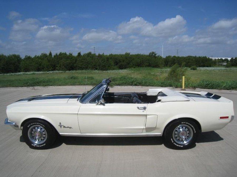 ford mustang i 1964 73 4 7l v8 289 ci cabriolet blanc. Black Bedroom Furniture Sets. Home Design Ideas