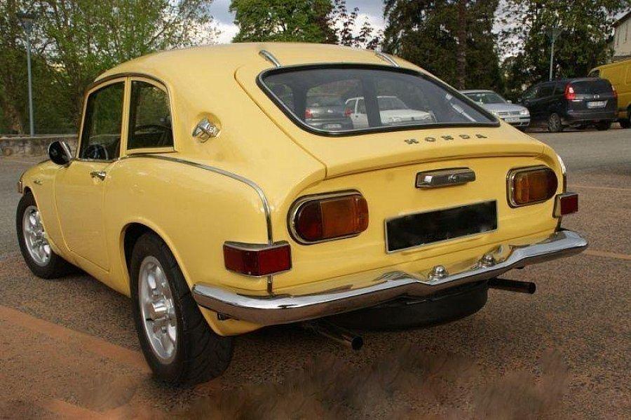 honda s800 78 ch mk2 coup jaune clair occasion 31 000 1 500 km vente de voiture d. Black Bedroom Furniture Sets. Home Design Ideas