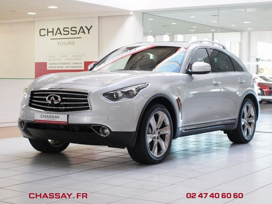 infiniti qx70 v8 5 0 s premium suv gris occasion 59 900 20 km vente de voiture d. Black Bedroom Furniture Sets. Home Design Ideas