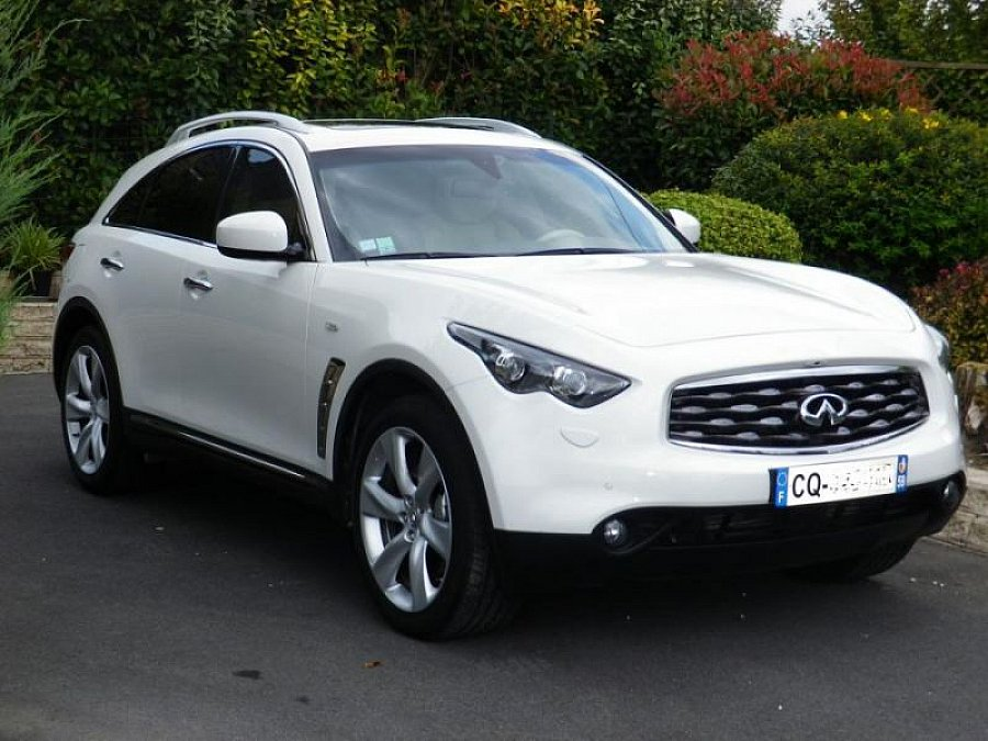 infiniti fx 30d 3 0d v6 238ch premium ba suv blanc. Black Bedroom Furniture Sets. Home Design Ideas
