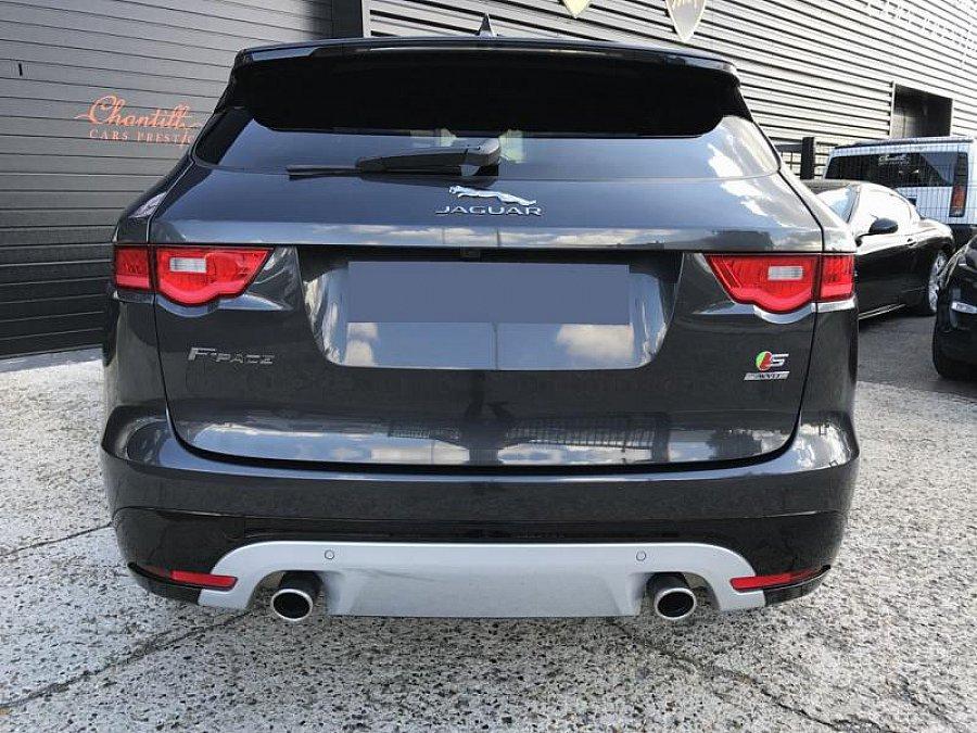 jaguar f pace s v6 300 ch suv gris fonc occasion 66 000 25 500 km vente de voiture. Black Bedroom Furniture Sets. Home Design Ideas