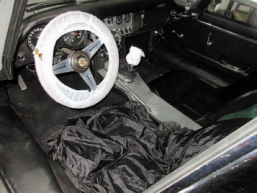 JAGUAR TYPE E Série 1 3.8L BOITE MOSS coupé Gris clair ...