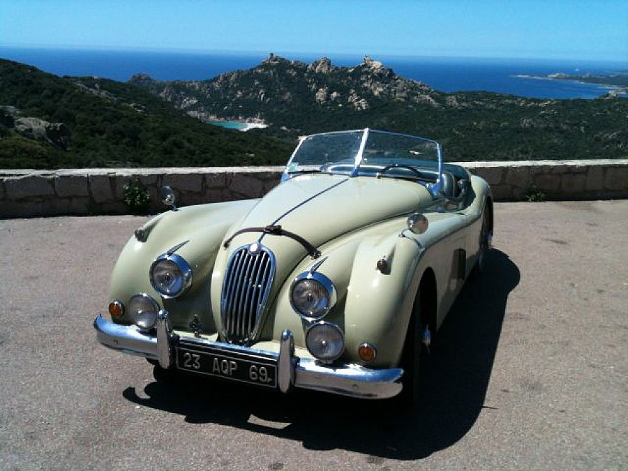 jaguar xk140 cabriolet vert occasion 117 000 18 000 km vente de voiture d 39 occasion. Black Bedroom Furniture Sets. Home Design Ideas