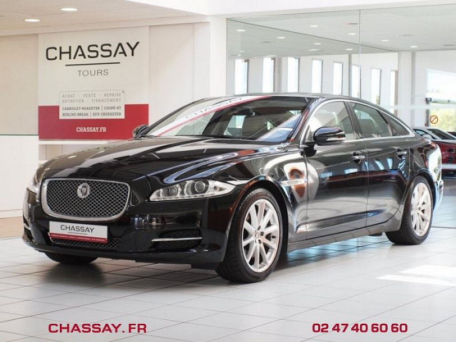 jaguar xj 5 0 v8 portfolio berline noir occasion 42 900 66 150 km vente de voiture d. Black Bedroom Furniture Sets. Home Design Ideas