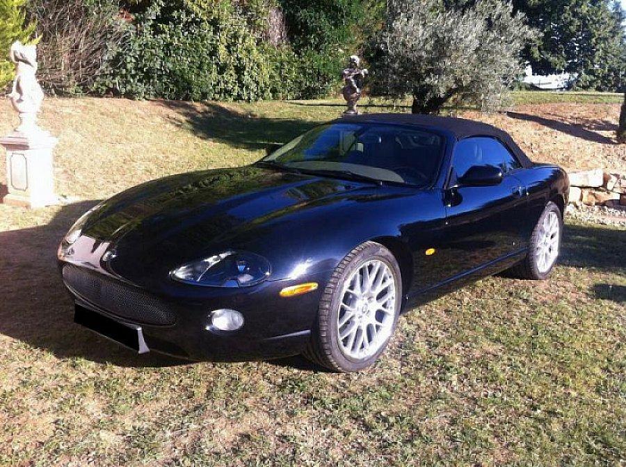 jaguar xk8 v8 304ch x100 pack cuir cabriolet bleu fonc occasion 30 500 77 300 km. Black Bedroom Furniture Sets. Home Design Ideas