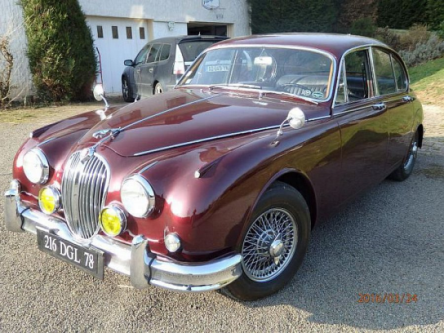 JAGUAR MARK 2 3.8 overdrive berline Bordeaux occasion - 45 000 €, 98 470 km