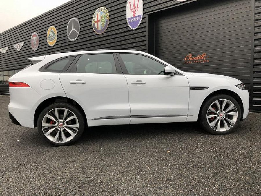 jaguar f pace 30d awd 300 ch r sport suv blanc occasion. Black Bedroom Furniture Sets. Home Design Ideas