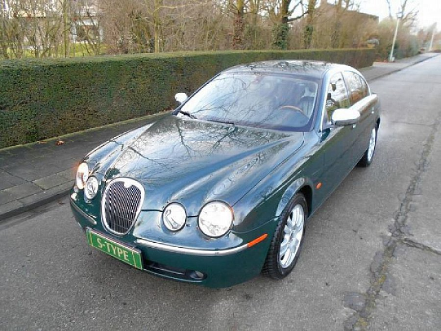 jaguar s type 2 7 v6 d bi turbo berline vert fonc occasion 5 500 169 800 km vente de. Black Bedroom Furniture Sets. Home Design Ideas