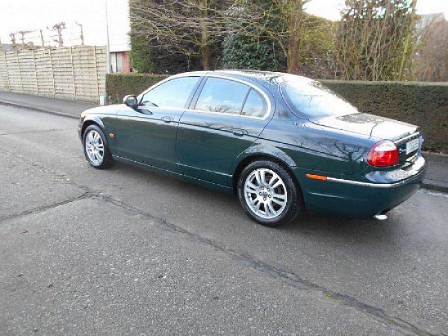 jaguar s type 2 7 v6 d bi turbo berline vert fonc occasion 5 500 169 800 km vente de. Black Bedroom Furniture Sets. Home Design Ideas