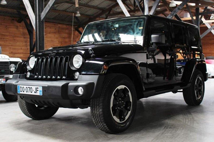 jeep wrangler jk unlimited 2 8 crd 200ch 4x4 noir occasion 42 800 40 800 km vente de. Black Bedroom Furniture Sets. Home Design Ideas