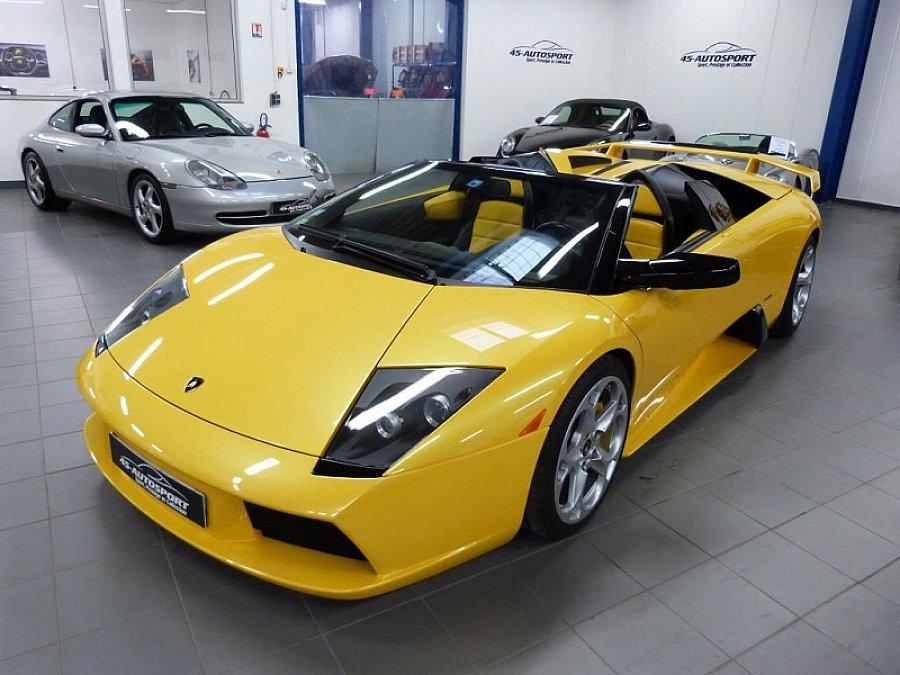 Lamborghini Murcielago 6 2 V12 Cabriolet Jaune Occasion 219 990