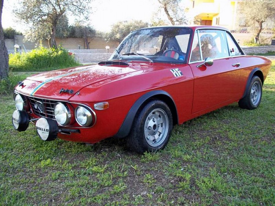 LANCIA FULVIA 1600 HF FANALONE GR.3 coupé Rouge occasion - 85 000 €, 1 500 km