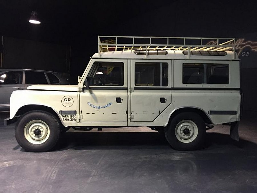 land rover santana suv beige occasion 15 900 97 100 km vente de voiture d 39 occasion. Black Bedroom Furniture Sets. Home Design Ideas
