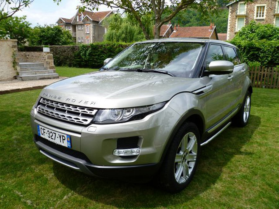 land rover range rover evoque si4 2 0l 240ch prestige plus 4x4 gris clair occasion 39 000. Black Bedroom Furniture Sets. Home Design Ideas