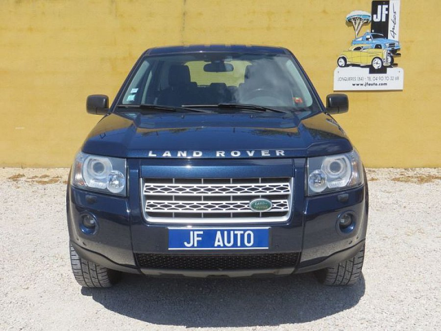 land rover freelander ii td4 160ch suv bleu occasion 10 700 173 778 km vente de voiture. Black Bedroom Furniture Sets. Home Design Ideas