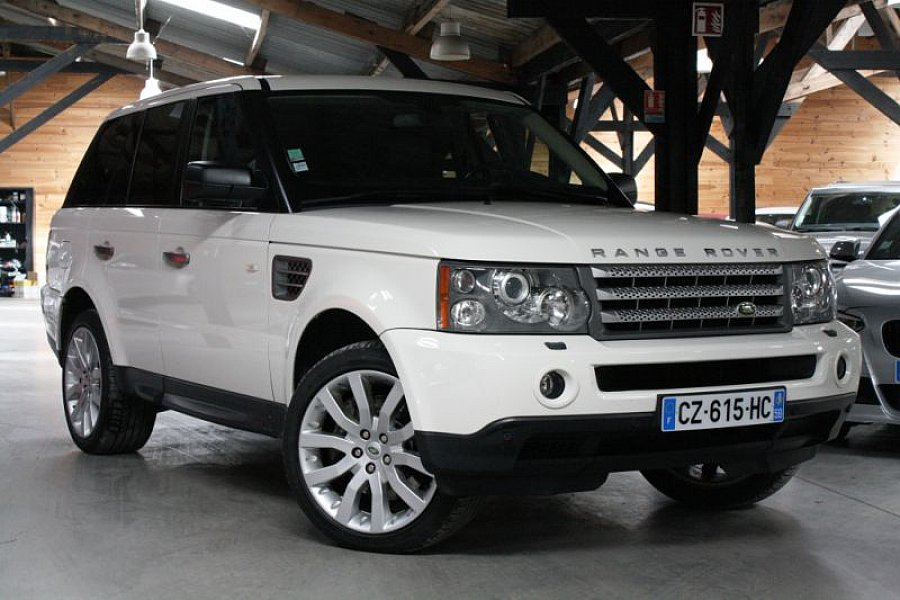land rover range rover sport tdv8 270 ch hse 4x4 occasion 26 900 110 000 km vente. Black Bedroom Furniture Sets. Home Design Ideas