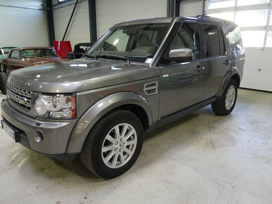 annonce vendue land rover discovery iv tdv6 hse 4x4 gris fonc occasion 23 000 219 845 km. Black Bedroom Furniture Sets. Home Design Ideas