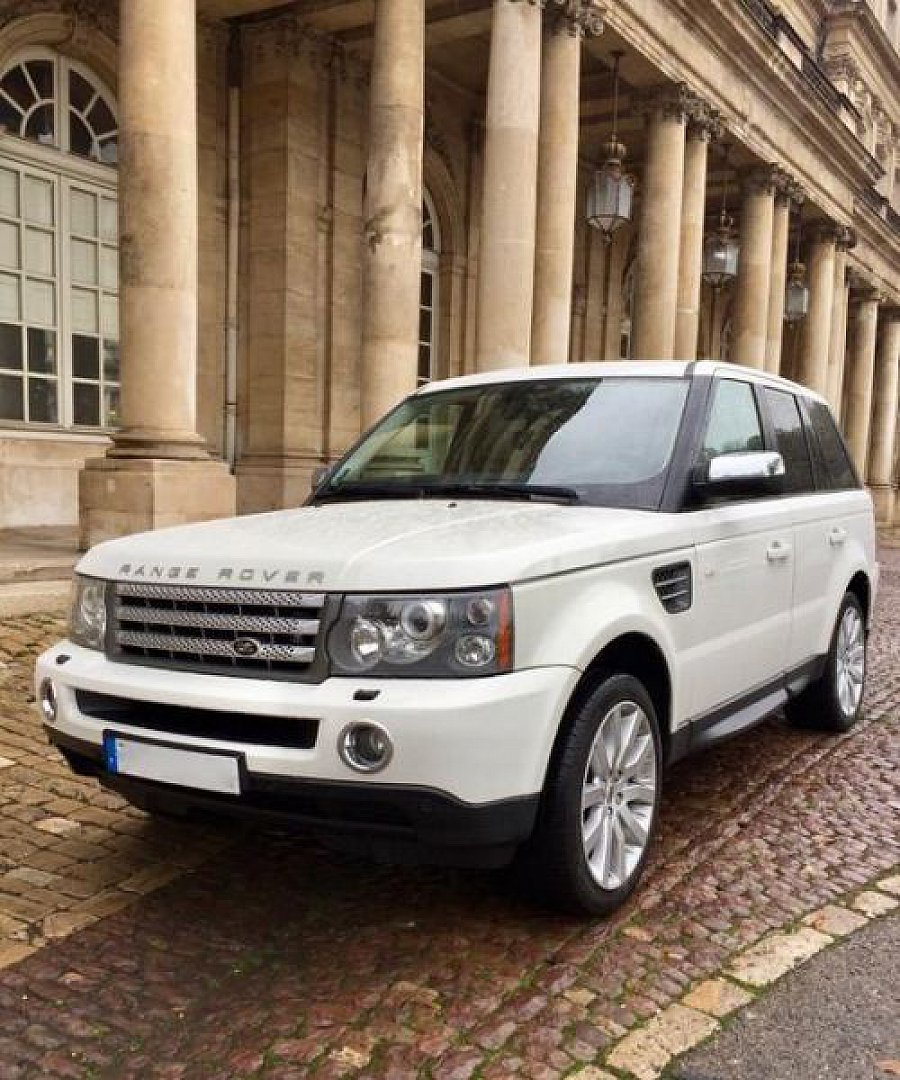 land rover range rover sport i tdv8 270 ch hse finition premium suv blanc occasion 25 000. Black Bedroom Furniture Sets. Home Design Ideas