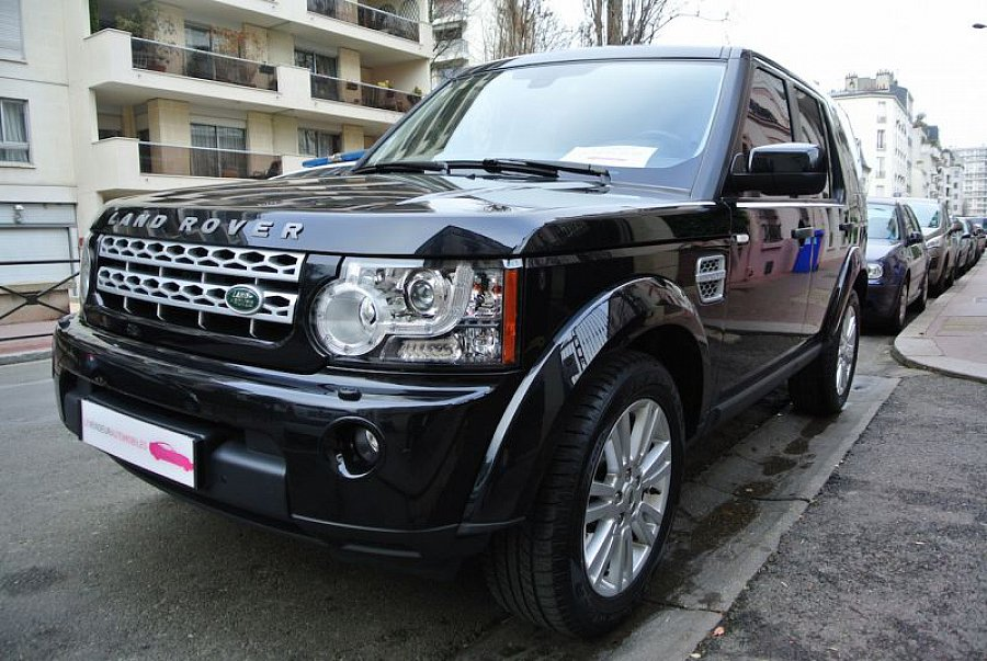 land rover discovery iv sdv6 3 0 hse suv noir occasion. Black Bedroom Furniture Sets. Home Design Ideas