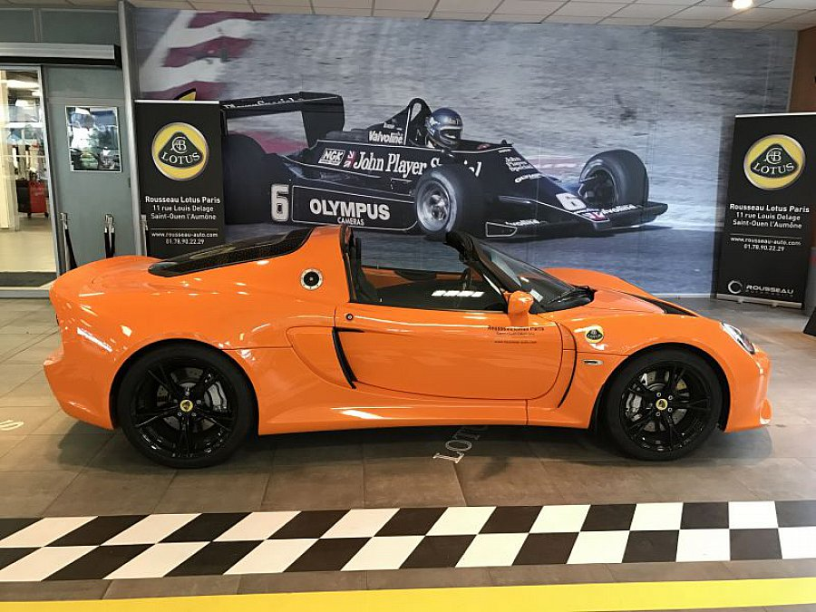 lotus exige serie 3 s roadster cabriolet orange occasion 66 500 9 000 km vente de. Black Bedroom Furniture Sets. Home Design Ideas