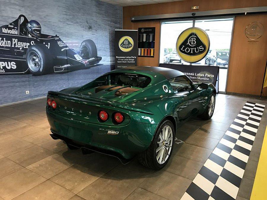 lotus elise serie 3 sport 220 cabriolet vert occasion 55. Black Bedroom Furniture Sets. Home Design Ideas