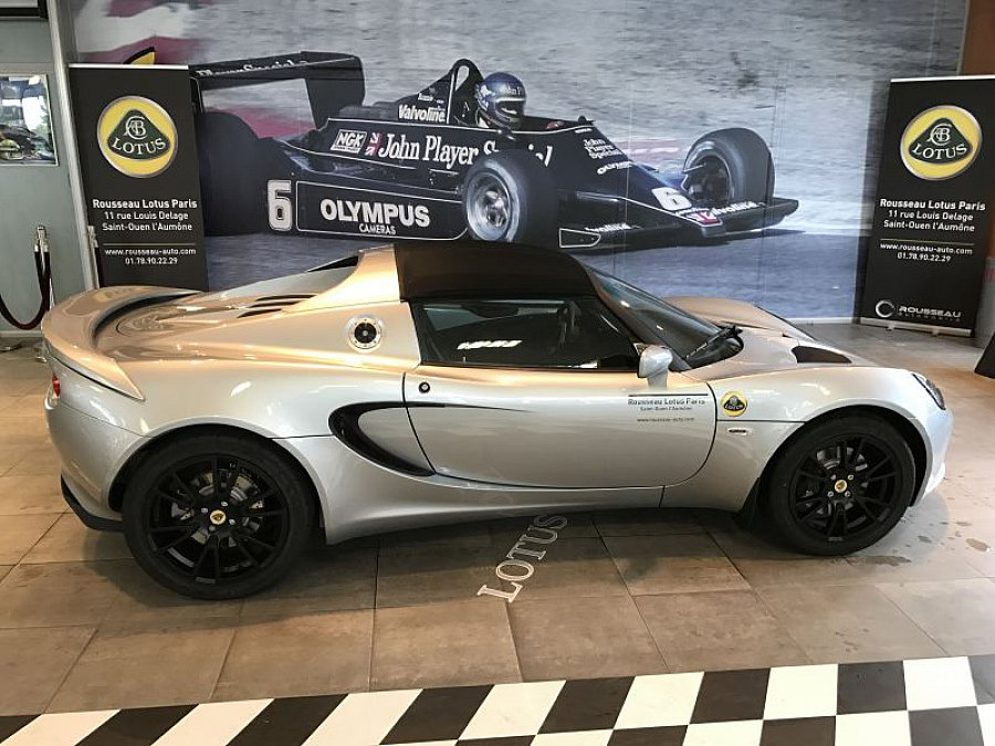 lotus elise serie 3 sport 220 cabriolet gris occasion 49 900 6 000 km vente de voiture d. Black Bedroom Furniture Sets. Home Design Ideas