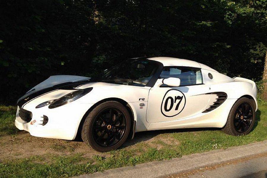 lotus elise serie 2 111r comp tition blanc occasion 24 950 40 000 km vente de voiture d. Black Bedroom Furniture Sets. Home Design Ideas