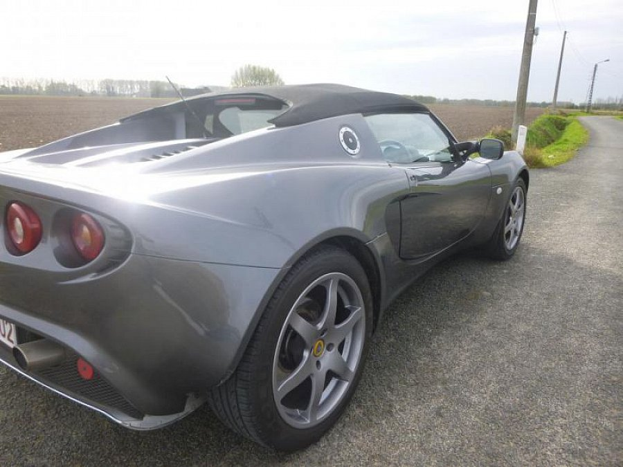 lotus elise serie 2 111 cabriolet gris fonc occasion 18 000 80 600 km vente de voiture. Black Bedroom Furniture Sets. Home Design Ideas