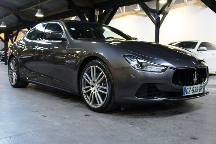 maserati ghibli iii d250 berline occasion 69 800 2 000 km vente de voiture d 39 occasion. Black Bedroom Furniture Sets. Home Design Ideas