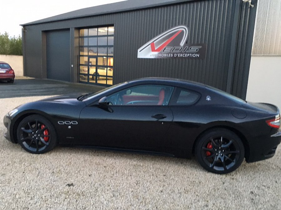 maserati granturismo sport 4 7 460ch coup noir occasion 109 000 5 830 km vente de. Black Bedroom Furniture Sets. Home Design Ideas