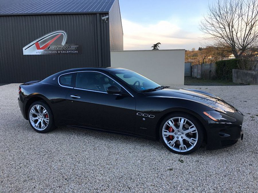 maserati granturismo s 4 7l v8 440ch coup noir occasion 76 500 18 000 km vente de. Black Bedroom Furniture Sets. Home Design Ideas
