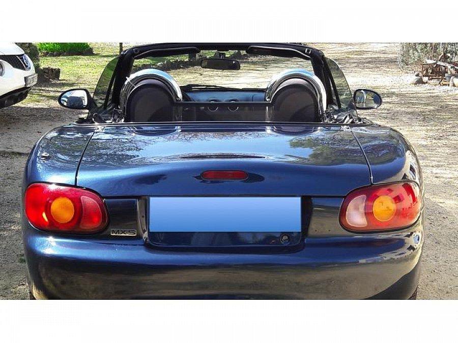 mazda mx 5 nb cabriolet bleu occasion 9 000 64 000 km vente de voiture d 39 occasion. Black Bedroom Furniture Sets. Home Design Ideas