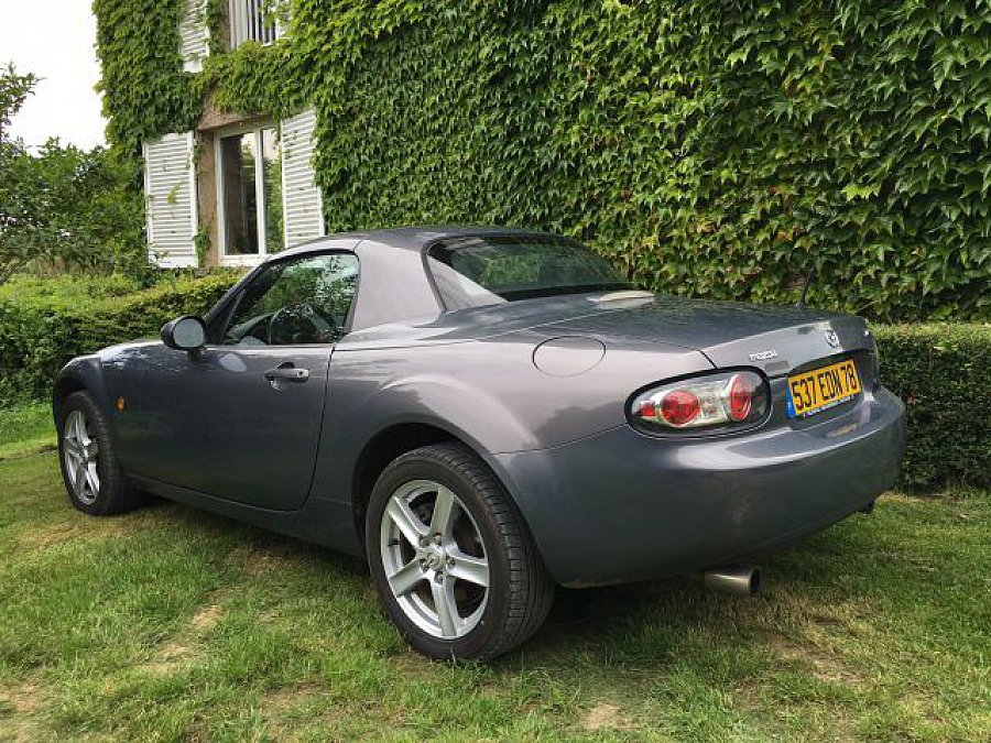 mazda mx 5 1 8 mzr roadster coup elegance cabriolet gris. Black Bedroom Furniture Sets. Home Design Ideas