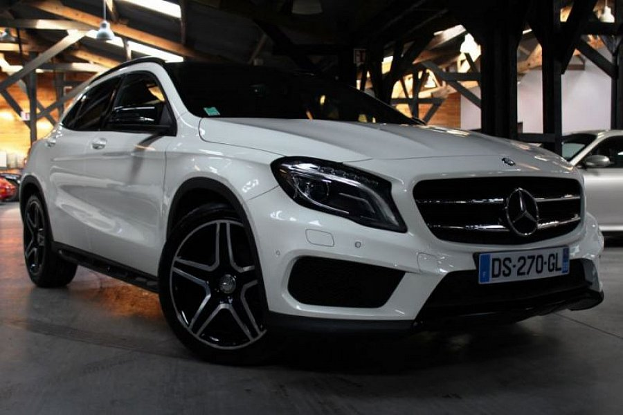 mercedes classe gla 220 cdi 4matic fascination suv blanc occasion 36 890 35 500 km vente. Black Bedroom Furniture Sets. Home Design Ideas
