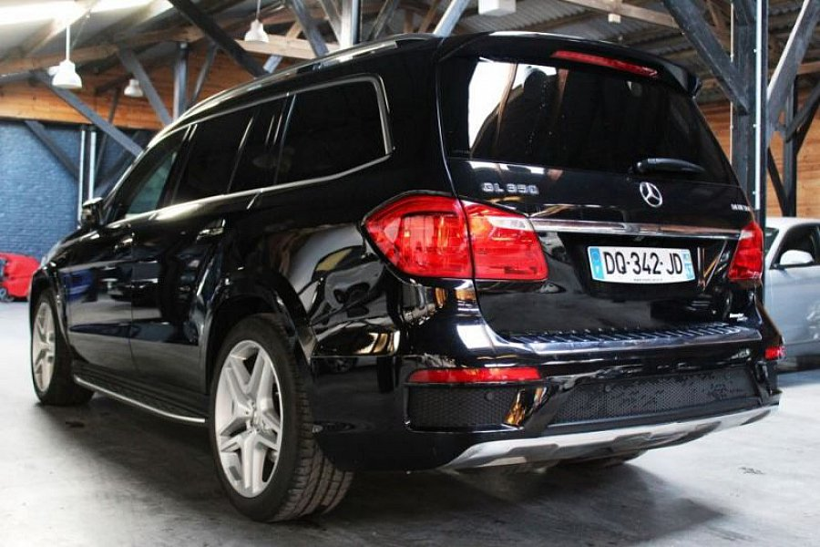 mercedes classe gl x166 350 cdi bluetec fascination 4 matic 7g tronic 4x4 noir occasion 66 900. Black Bedroom Furniture Sets. Home Design Ideas
