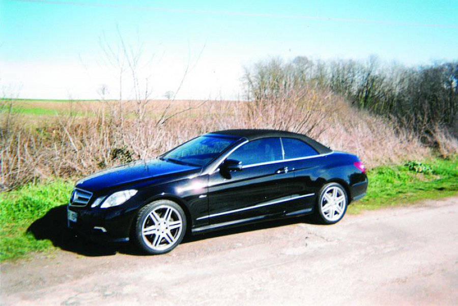 MERCEDES CLASSE E Cabriolet A207 350 CDI BlueEfficiency cabriolet occasion - 31 900 €, 48 700 km