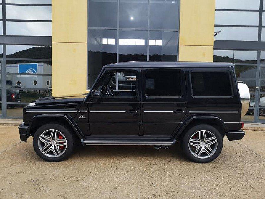mercedes classe g w463 63 amg 4x4 noir occasion 129 900 12 670 km vente de voiture d. Black Bedroom Furniture Sets. Home Design Ideas